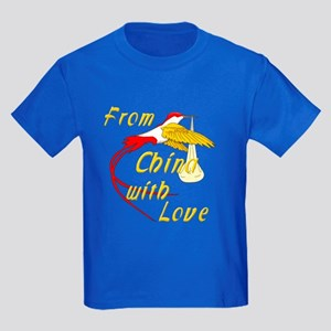 China Adoption Kids T-Shirt
