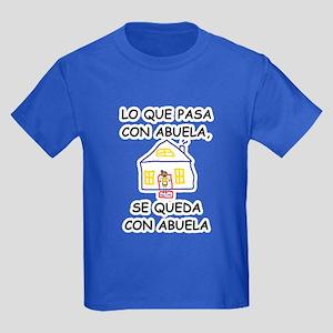 Con Abuela Kids Dark T-Shirt