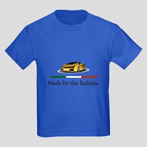 Lamborghini Italian Kids Dark T-Shirt