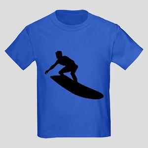 Surfing Kids Dark T-Shirt