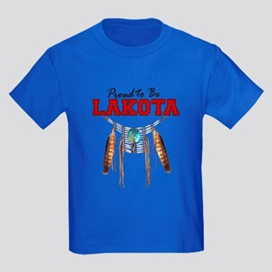Proud to be Lakota Kids Dark T-Shirt