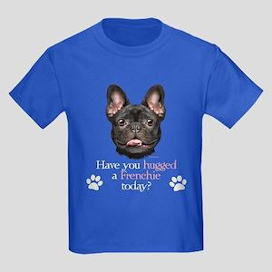Frenchie Hug Kids Dark T-Shirt