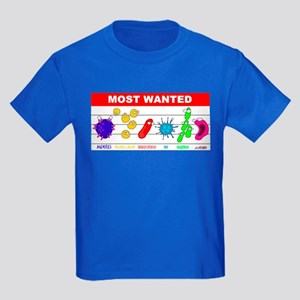 Most Wanted Poster Kids Dark T-Shirt
