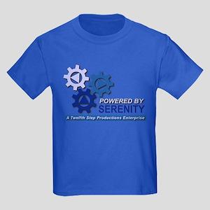 Powered by Serenity Kids Dark T-Shirt
