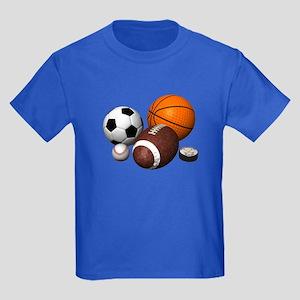sports balls Kids Dark T-Shirt