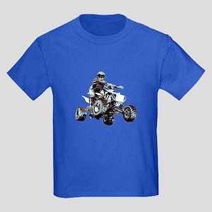 ATV Racing Kids Dark T-Shirt