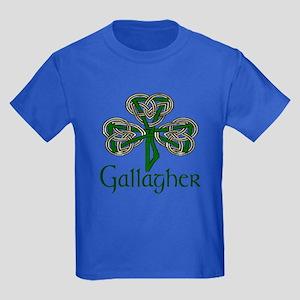 Gallagher Shamrock Kids Dark T-Shirt