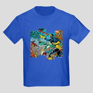 Cyclops Comic Panel Kids Dark T-Shirt