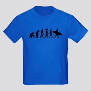 Evolution surfing Kids Dark T-Shirt