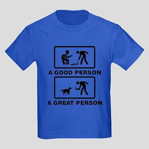 English Setter Kids Dark T-Shirt