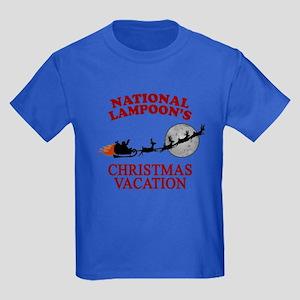 Christmas Vacation Kids Dark T-Shirt
