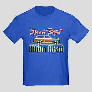 Hilton Head Road Trip - Kids Dark T-Shirt