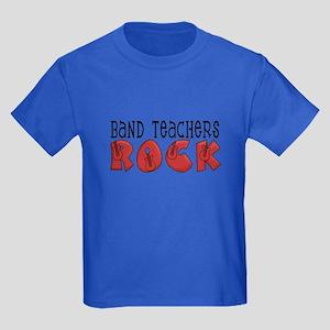 Band Teachers Rock Kids Dark T-Shirt