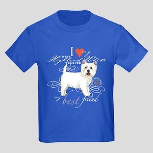 Westie Kids Dark T-Shirt
