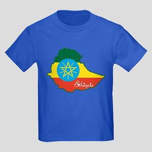 Cool Ethiopia Kids Dark T-Shirt