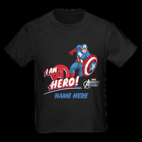 Captain America Personalized