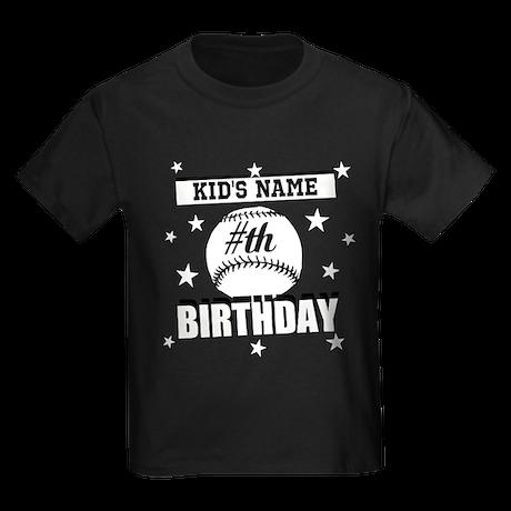 Baseball Birthday Personalized T-Shirt