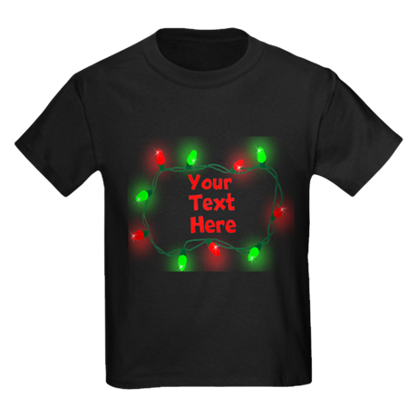 Custom Christmas Lights T-Shirt