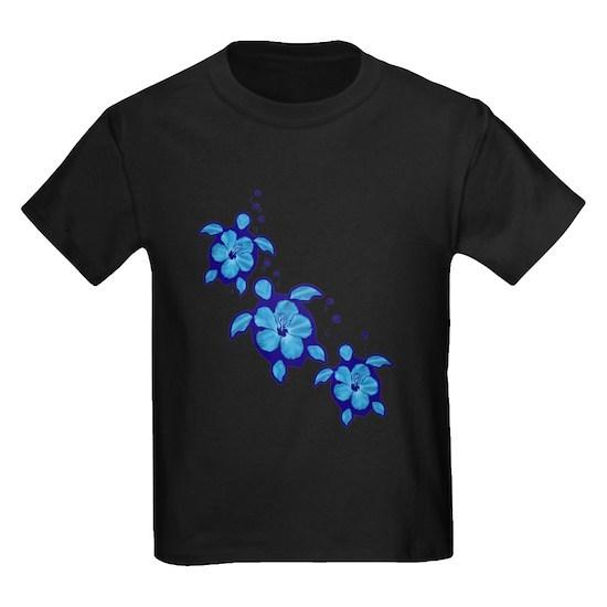 Blue Hibiscus Honu Turtles