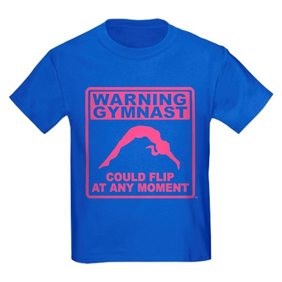 Warning Gymnast Could Flip