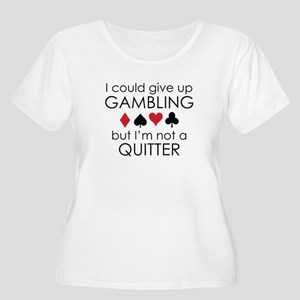 I Could Give Up Gambling Women's Plus Size Scoop N