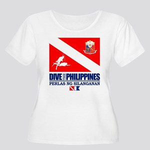 Dive The Philippines Plus Size T-Shirt