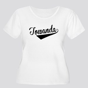 Towanda, Retro, Plus Size T-Shirt
