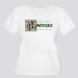 Brennan Celtic Dragon Women's Plus Size Scoop Neck
