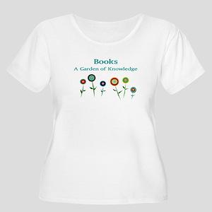 63e629fb New Section Women's Plus Size Scoop Neck T-Shirt