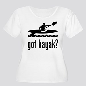81257c59 Funny Kayak Women's Plus Size T-Shirts - CafePress