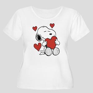 f511f2cf3 Snoopy Women's Plus Size T-Shirts - CafePress