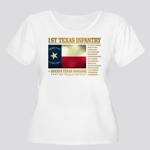 1st Texas Infantry (BH2) Plus Size T-Shirt