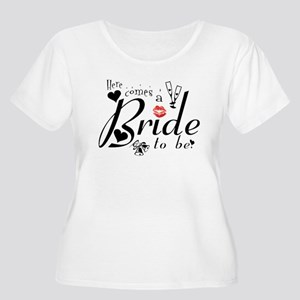 Bride-to-Be Women's Plus Size Scoop Neck T-Shirt