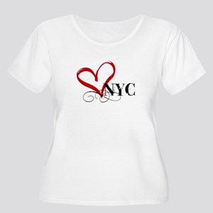LOVE NYC FANCY Plus Size T-Shirt
