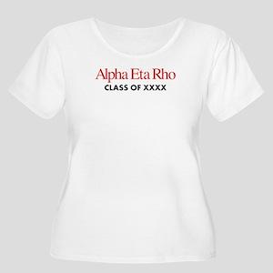 Alpha Eta Rho Women's Plus Size Scoop Neck T-Shirt