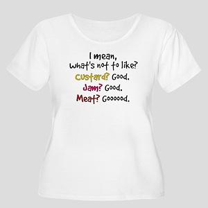 'What's Not T Women's Plus Size Scoop Neck T-Shirt
