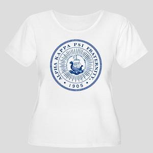 Alpha Kappa P Women's Plus Size Scoop Neck T-Shirt