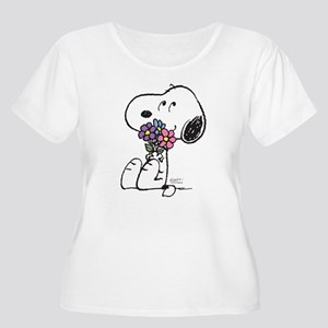 Springtime Sn Women's Plus Size Scoop Neck T-Shirt