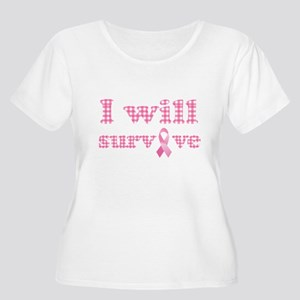 I will survive cancer Plus Size T-Shirt