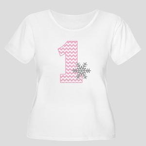 Snowflake 1 Plus Size T-Shirt
