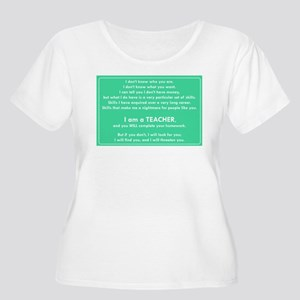 I will find you Do Your Homework Plus Size T-Shirt
