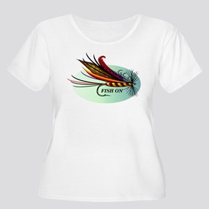 Fish On Plus Size T-Shirt