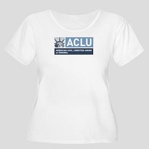 Aclu-Va - Women's Logo Plus Size T-Shirt