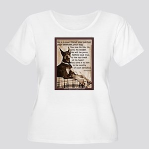 You owe it to him Plus Size T-Shirt