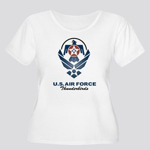 USAF Thunderbird Women's Plus Size Scoop Neck Tee