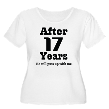 366ddb52c 17th Anniversary Funny Quote T-Shirt > Funny 17th Anniversary Quote ...