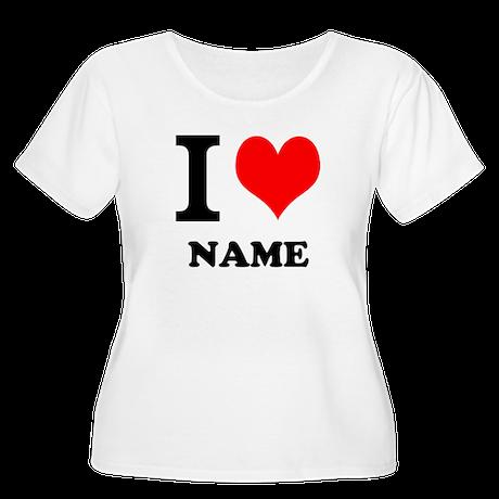 I Heart Plus Size T-Shirt