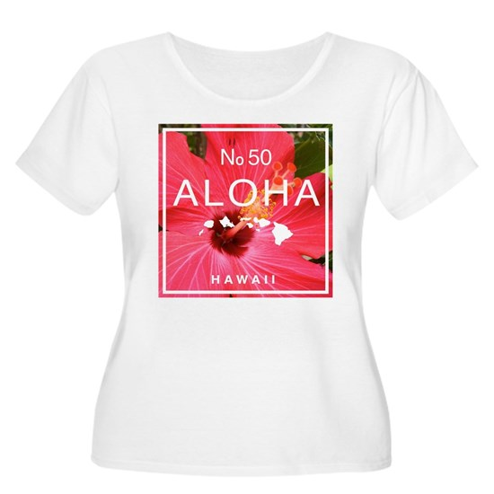Aloha Hawaii No 50 Red Hibiscus
