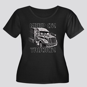 Keep on Trucking Plus Size T-Shirt