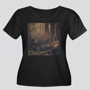 Giant Redwoods Plus Size T-Shirt